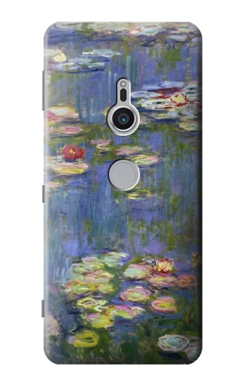 Printed Claude Monet Water Lilies Sony Xperia XZ2 Case