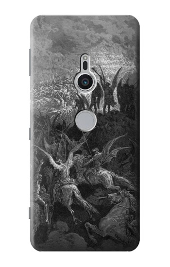 Printed Gustave Dore Paradise Lost Sony Xperia XZ2 Case