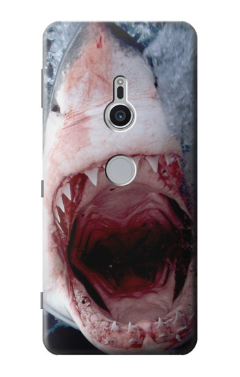 Printed Jaws Shark Mouth Sony Xperia XZ2 Case