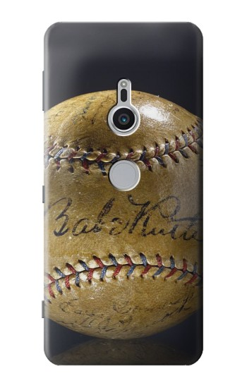 Printed Babe Ruth Baseball Autographed Sony Xperia XZ2 Case