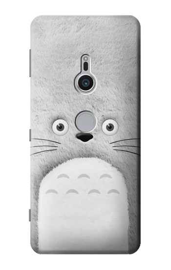 Printed My Neighbor Totoro Grey Minimalist Sony Xperia XZ2 Case