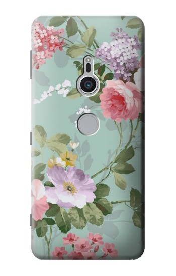 Printed Flower Floral Art Painting Sony Xperia XZ2 Case