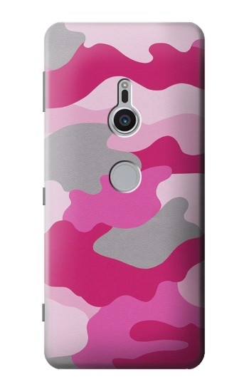 Printed Pink Camouflage Sony Xperia XZ2 Case