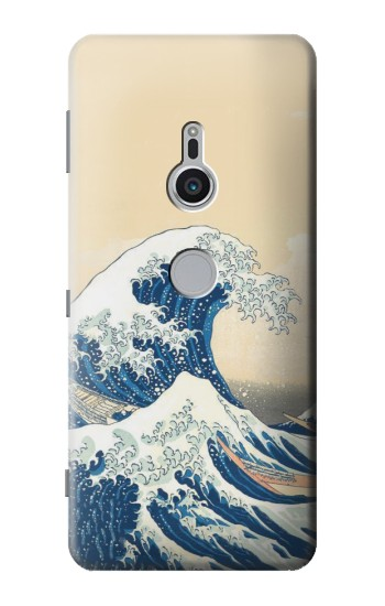 Printed Under the Wave off Kanagawa Sony Xperia XZ2 Case