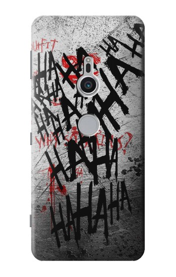 Printed Joker Hahaha Blood Splash Sony Xperia XZ2 Case