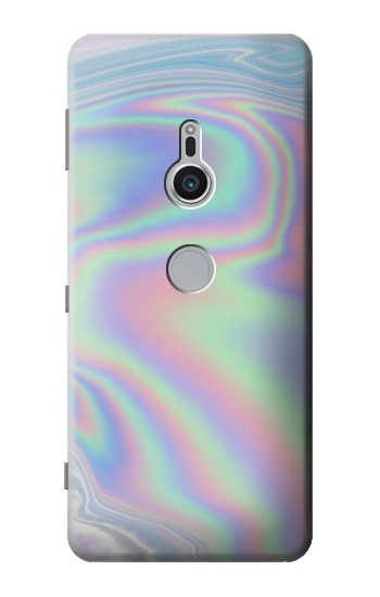 Printed Pastel Holographic Photo Printed Sony Xperia XZ2 Case