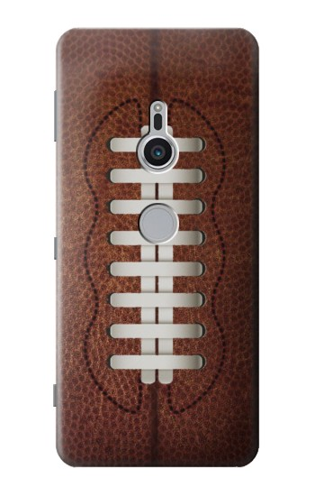 Printed Leather Vintage Football Sony Xperia XZ2 Case