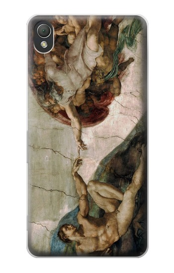 Printed Michelangelo The creation of Adam Sony Xperia Z3 Case