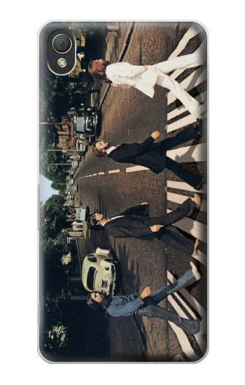 Printed The Beatles Abbey Road Sony Xperia Z3 Case
