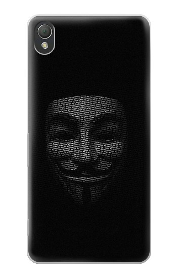 Printed Anonymous mask Sony Xperia Z3 Case