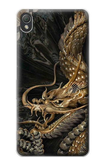 Printed Gold Dragon Sony Xperia Z3 Case