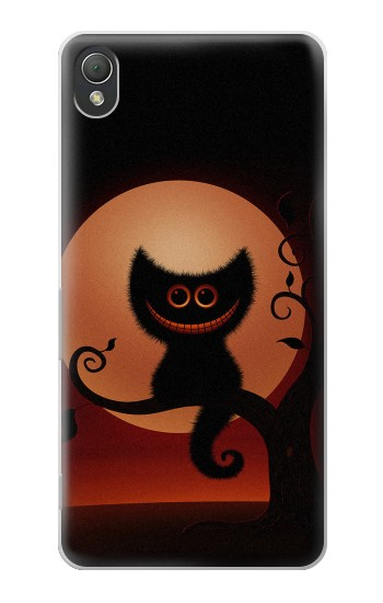 Printed Halloween Cat Sony Xperia Z3 Case