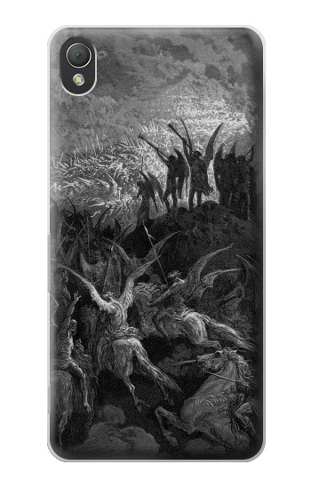 Printed Gustave Dore Paradise Lost Sony Xperia Z3 Case