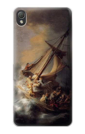 Printed Rembrandt Christ in The Storm Sony Xperia Z3 Case