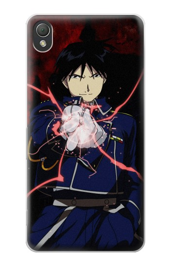 Printed Fullmetal Alchemist Roy Mustang Sony Xperia Z3 Case