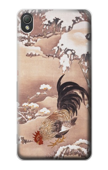 Printed Ito Jakuchu Rooster Sony Xperia Z3 Case