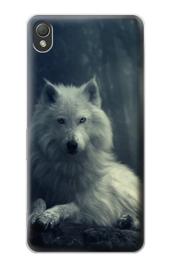 Printed White Wolf Sony Xperia Z3 Case