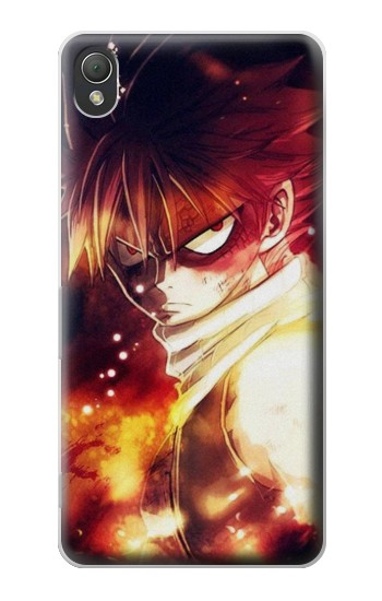 Printed Fairy Tail Natsu Dragneel Salamander Fire Dragon Sony Xperia Z3 Case