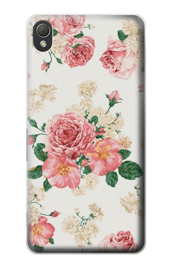 Printed Rose Pattern Sony Xperia Z3 Case