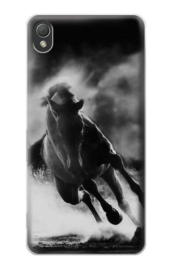 Printed Running Horse Sony Xperia Z3 Case