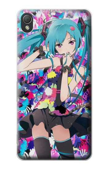 Printed Vocaloid Hatsune Miku Tell Your World Sony Xperia Z3 Case