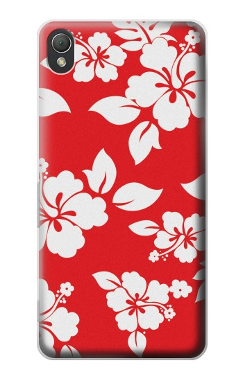 Printed Hawaiian Hibiscus Pattern Sony Xperia Z3 Case