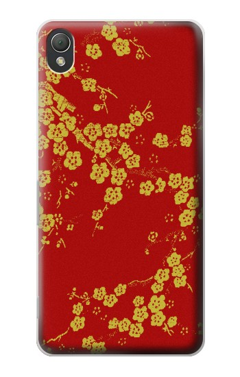 Printed Cherry Blossoms Chinese Silk Graphic Printed Sony Xperia Z3 Case
