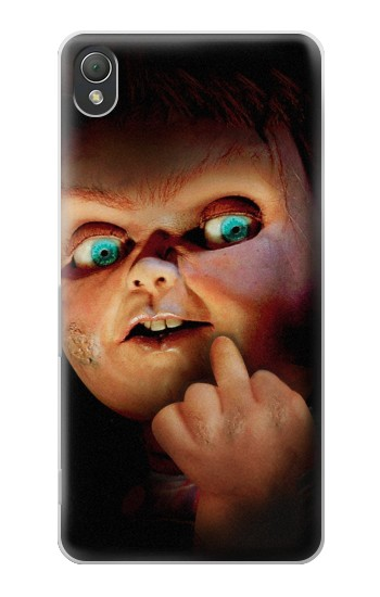 Printed Chucky Middle Finger Sony Xperia Z3 Case