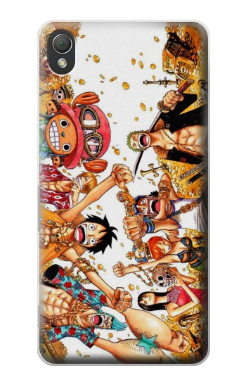 Printed One Piece Straw Hat Luffy Pirate Crew Sony Xperia Z3 Case