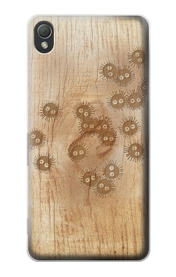 Printed Spirited Away Wood Art Graphic Printed Sony Xperia Z3 Case