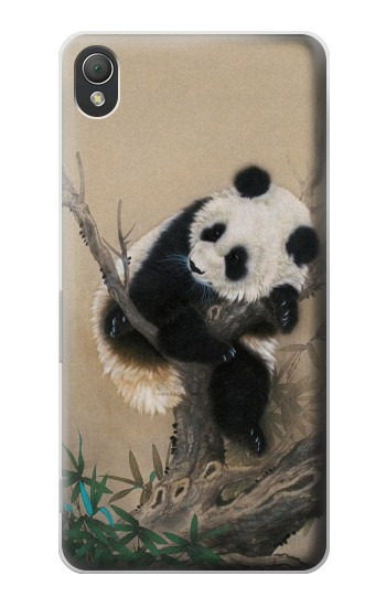 Printed Panda Fluffy Art Painting Sony Xperia Z3 Case