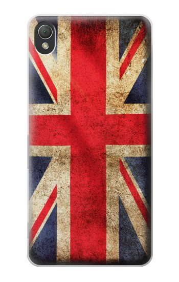 Printed British UK Vintage Flag Sony Xperia Z3 Case