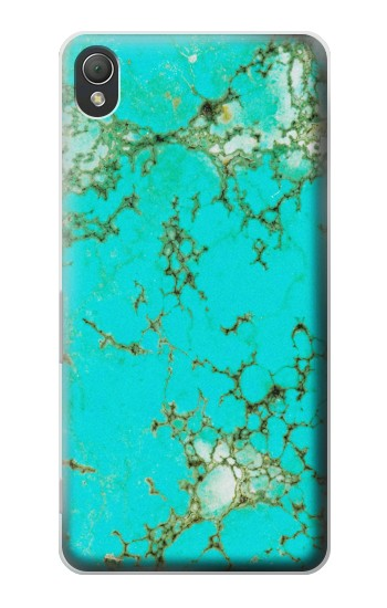 Printed Turquoise Gemstone Texture Graphic Printed Sony Xperia Z3 Case