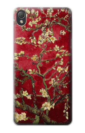 Printed Red Blossoming Almond Tree Van Gogh Sony Xperia Z3 Case