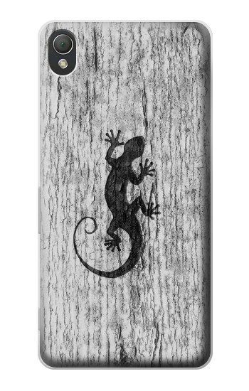 Printed Gecko Wood Graphics Printed Sony Xperia Z3 Case