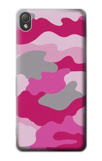 Printed Pink Camouflage Sony Xperia Z3 Case