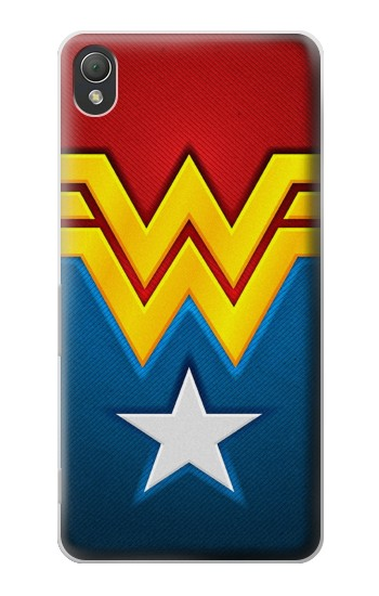Printed Wonder Women Logo Sony Xperia Z3 Case
