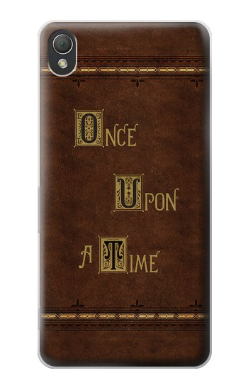 Printed Once Upon A Time Book Sony Xperia Z3 Case