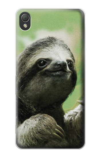 Printed Smiling Sloth Sony Xperia Z3 Case