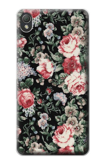 Printed Vintage Rose Pattern Sony Xperia Z3 Case