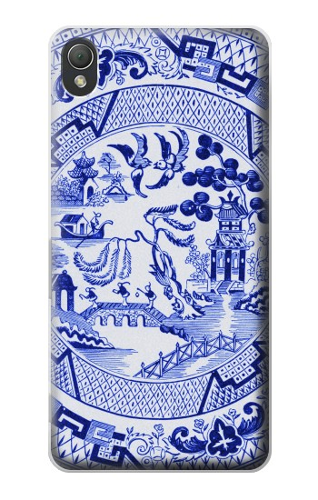 Printed Willow Pattern Illustration Sony Xperia Z3 Case