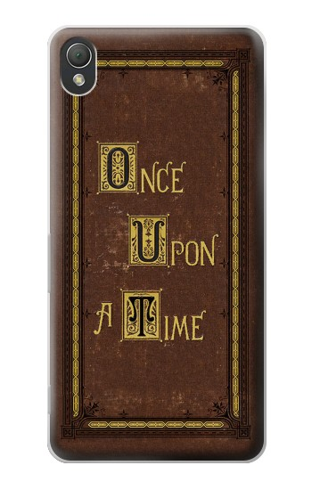 Printed Once Upon a Time Book Cover Sony Xperia Z3 Case
