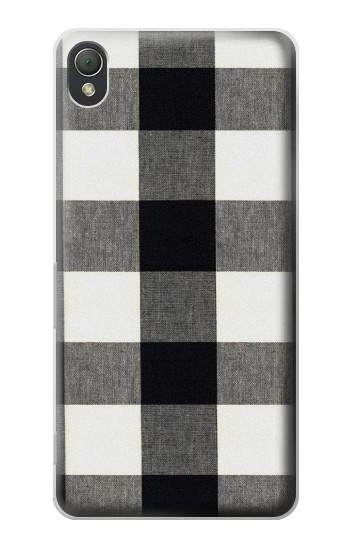 Printed Black and White Buffalo Check Pattern Sony Xperia Z3 Case