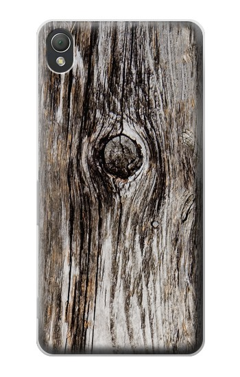 Printed Old Wood Bark Printed Sony Xperia Z3 Case