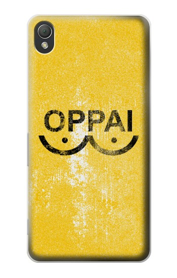 Printed Oppai One-Punch Man Symbol Sony Xperia Z3 Case