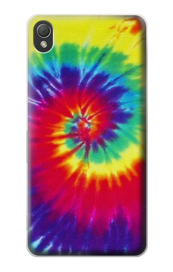 Printed Tie Dye Fabric Color Sony Xperia Z3 Case