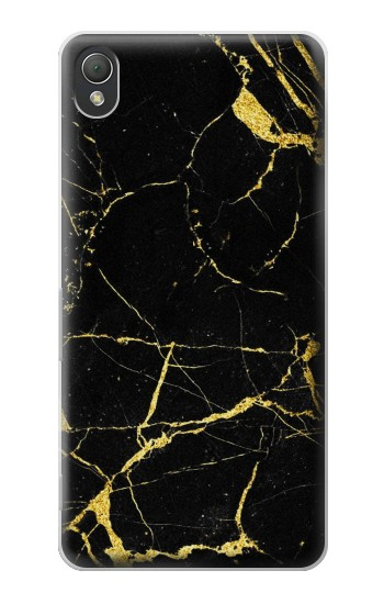 Printed Gold Marble Graphic Printed Sony Xperia Z3 Case