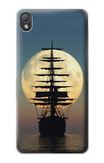 Printed Pirate Ship Moon Night Sony Xperia Z3 Case