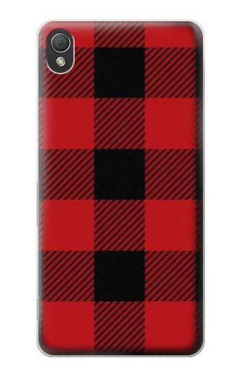 Printed Red Buffalo Check Pattern Sony Xperia Z3 Case