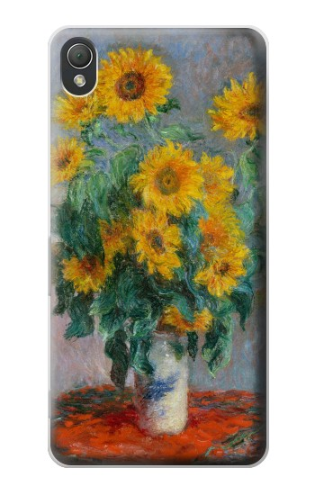 Printed Claude Monet Bouquet of Sunflowers Sony Xperia Z3 Case